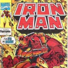 Cómics: IRON MAN - LA IRA DE RINO *** 1992 Nº4. Lote 8592415