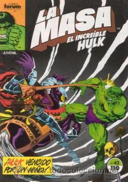 HULK: LA MASA TOMO QUE CONTIENE DEL 41 AL 45 (Tebeos y Comics - Forum - Hulk)