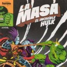 Cómics: HULK: LA MASA TOMO QUE CONTIENE DEL 41 AL 45. Lote 26660135