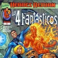 Cómics: LOS 4 FANTASTICOS Nº 1, HEROES RETURN.. Lote 26742992