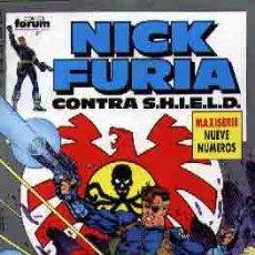 Cómics: NICK FURIA CONTRA S.H.I.E.L.D COMPLETA. Lote 26768721