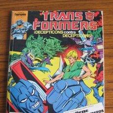 Cómics: TRANS FORMERS .. RETAPADO DEL Nº 27 AL 30. Lote 24388416