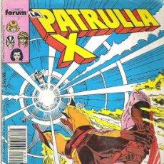 Cómics: LA PATRULLA X - MUERTE POR INMERSION *** Nº71 1987. Lote 8696455