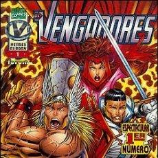 Cómics: VENGADORES Nº 1-3-4-12 HEROES REBORN. Lote 26991935