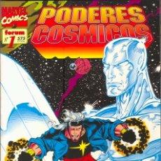 Cómics: PODERES COSMICOS (ESTELA PLATEADA Y WARLOCK) NUMERO 1. Lote 26249920