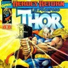 Cómics: THOR. HEROES RETURN Nº 1-2-3-4. Lote 26965331