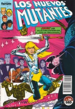 LOS NUEVOS MUTANTES Nº 36 VOLUMEN I (Tebeos y Comics - Forum - Nuevos Mutantes)