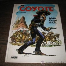 Cómics: EL COYOTE EDICIONES FORUM TAPA DURA Nº 4 WELLS FARGO&CO. Lote 8854806