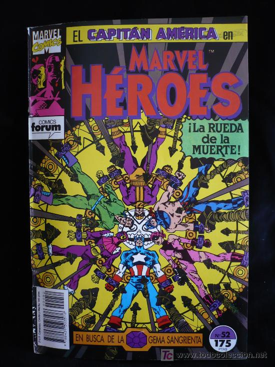 EL CAPITAN AMERICA. Nº 52 (Tebeos y Comics - Forum - Capitán América)