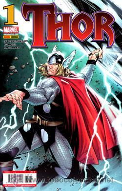THOR Nº 1-2-3-4 AÑO 1 PANINI (Tebeos y Comics - Forum - Thor)