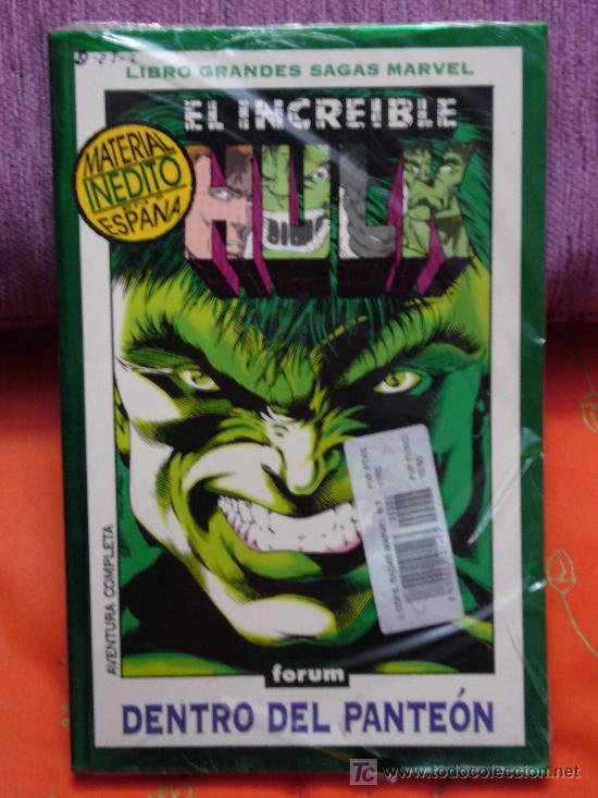 EL INCREÍBLE HULK, DENTRO DEL PANTEÓN. MARVEL COMICS (PRECINTADO) (Tebeos y Comics - Forum - Hulk)