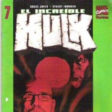 Cómics: EL INCREIBLE HULK -ORGANISMO MULTIPLE ** VOL 2 Nº 7. Lote 9109785