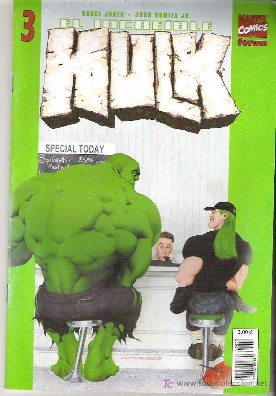 EL INCREIBLE HULK - ULTIMA OPORTUNIDAD ** VOL 2 Nº 3 (Tebeos y Comics - Forum - Hulk)