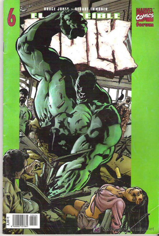 EL INCREIBLE HULK - AHORA LO VES ** VOL 2 Nº 6 (Tebeos y Comics - Forum - Hulk)