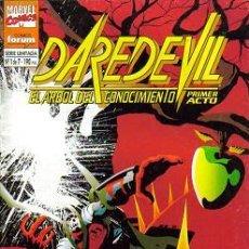 Cómics: DAREDEVIL EL ARBOL DEL CONOCIMIENTO (PLANETA-DEAGOSTINI/FORUM) 1995 COMPLETA. Lote 26827631