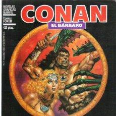 Cómics: CONAN EL BARBARO - LA REINA BRUJA DE AQUERON. Lote 12224926