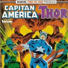 Cómics: CAPITAN AMERICA THOR RETAPADO Nº 66 AL 68 COMICS FORUM. Lote 32801563