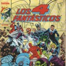 Cómics: LOS 4 FANTASTICOS, Nº 48. COMICS FORUM JUVENIL. DICIEMBRE 1986.. Lote 9545480