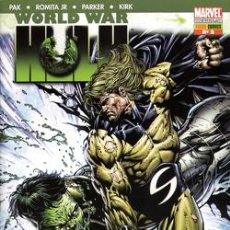 Cómics: WORLD WAR HULK COMPLETA 6 NUMEROS. Lote 27622712
