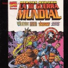 Cómics: HEROES REBORN - LA III GUERRA MUNDIAL - EL ESPECTACULAR FINAL DE LA SAGA HEROES REBORN. Lote 14619701