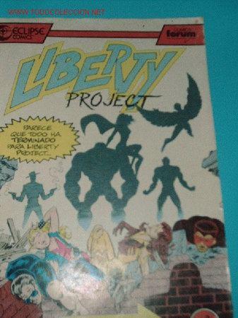 LIBERTY PROJECT Nº3 (Tebeos y Comics - Forum - Otros Forum)
