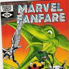 Cómics: MARVEL FANFARE NUM 3. Lote 2153765