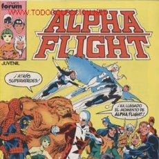 Cómics: ALPHA FLIGHTNº 1 AL 30,1985-V-1-PRIMERA EDICION-OBRA MAESTRA - JOHN BYRNE-Nº 5 CASA BIBLIOTECA. Lote 26532595