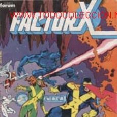 Cómics: FACTOR X. Lote 24331320