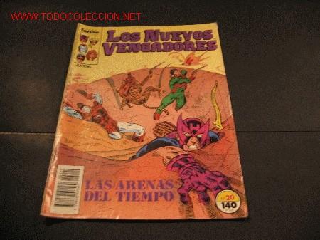 FORUM LOS NUEVOS VENGADORES Nº 20 (Tebeos y Comics - Forum - Vengadores)