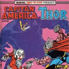 Cómics: CAPITAN AMERICA Y THOR. Lote 26276184