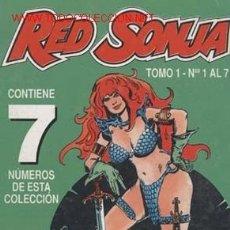 Cómics: RED SONJA-RETAPADO DEL 1 AL 7 CAJA 157 Y NºS 1,2,3,4 CAJA 157 SUELTOS CONSULTAR. Lote 25323827