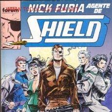 Cómics: NICK FURIA AGENTE DE SHIELD NUMEROS 1 A 5. Lote 26579371