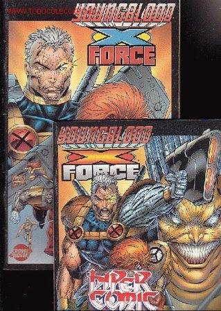 YOUNGBLOOD X FORCE - COMPLETO EN 2 EJEMPLARES ( CROSSOVER ) (Tebeos y Comics - Forum - Otros Forum)