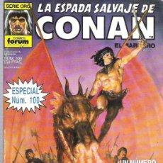 Cómics: LA ESPADA SALVAJE DE CONAN *** CONAN EN LAS ISLAS ** ESPECIAL NUM 100 . Lote 15900267