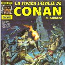 Cómics: LA ESPADA SALVAJE DE CONAN *** SANGRE DE HERMANOS *** NUM 103. Lote 11699442