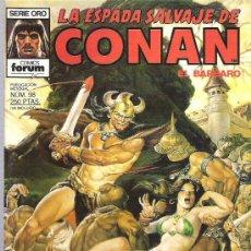 Cómics: LA ESPADA SALVAJE DE CONAN *** EL DIOS ASTADO - NUM 98 CONDICION EXCEPCIONAL. Lote 13761331