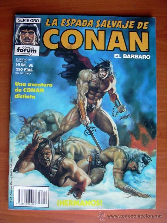 LA ESPADA SALVAJE DE CONAN, Nº 96 (Tebeos y Comics - Forum - Conan)