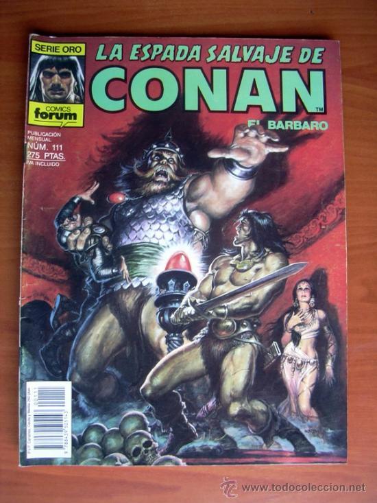 LA ESPADA SALVAJE DE CONAN, Nº 111 (Tebeos y Comics - Forum - Conan)