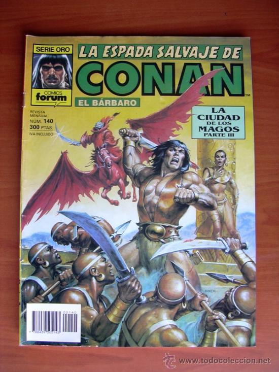 LA ESPADA SALVAJE DE CONAN, Nº 140 (Tebeos y Comics - Forum - Conan)