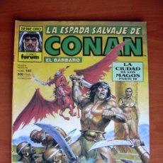 Cómics: LA ESPADA SALVAJE DE CONAN, Nº 140. Lote 9813039