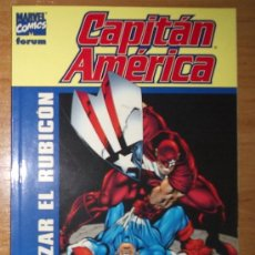 Cómics: CAPITAN AMERICA:CRUZAR EL RUBICON ¡ ONE SHOT 176 PAGINAS ! FORUM. Lote 9817312