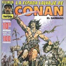 Cómics: LA ESPADA SALVAJE DE CONAN *** ESPECIAL DECIMO ANIVERSARIO *** NUM 122 EXCEPCIONAL. Lote 11958458
