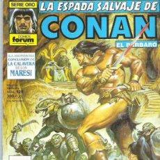 Cómics: LA ESPADA SALVAJE DE CONAN *** MUERTE EN UNA TIERRA DESCONOCIDA **+ NUM 129 MUY BUENO. Lote 13761332