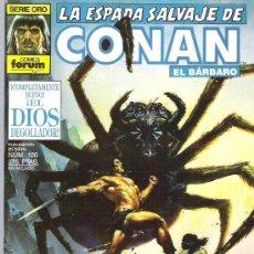 Cómics: LA ESPADA SALVAJE DE CONAN *** EL DIOS DEGOLLADOR - NUM 120 EX. Lote 13684123
