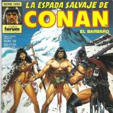 Cómics: LA ESPADA SALVAJE DE CONAN *** LA FUENTE DE UMIR ¡¡¡¡¡ NUM 59 EXCEPCIONAL. Lote 11709147
