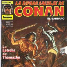 Cómics: LA ESPADA SALVAJE DE CONAN *** LA ESTRELLA DE THAMAZHU ¡¡¡ MUN 58. Lote 11709148