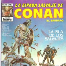 Cómics: LA ESPADA SALVAJE DE CONAN *** LA ISLA DE LOS SALVAJES NUM 53 EXCEPCIONAL. Lote 11605591