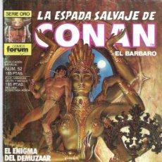 Cómics: LA ESPADA SALVAJE DE CONAN *** EL ENIGMA DEL DEMUZAAR ¡¡¡ NUM 52 EX. Lote 11723581