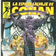 Cómics: LA ESPADA SALVAJE DE CONAN *** EL INFORMADOR ** NUM 41. Lote 11605593