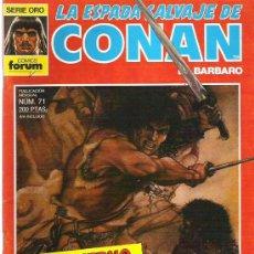 Cómics: LA ESPADA SALVAJE DE CONAN *** EL INVIERNO DEL LOBO ** NUM 71 EXCEPCIONAL. Lote 11709151